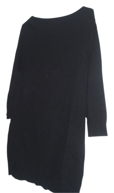 Preload https://img-static.tradesy.com/item/13232317/michael-kors-black-sweater-mini-short-casual-dress-size-16-xl-plus-0x-0-1-650-650.jpg