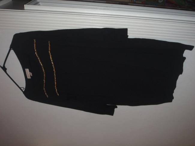 Michael Kors short dress Black Mini Sweater Size Xl on Tradesy Image 2