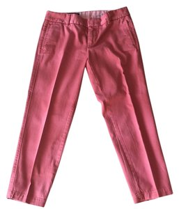 J.Crew Straight Pants Salmon