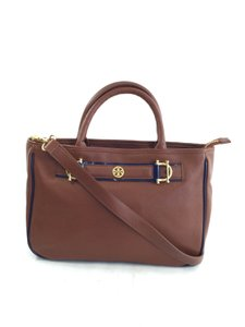 Tory Burch Crossbody Satchel in Brown