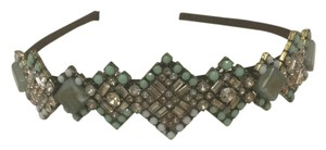 Anthropologie Anthropologie Green Beaded Headband
