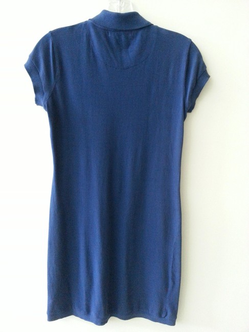 Velvet short dress Royal Blue on Tradesy
