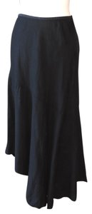 NIC+ZOE Asymmetric Bias Cut 3 Season Maxi Skirt black