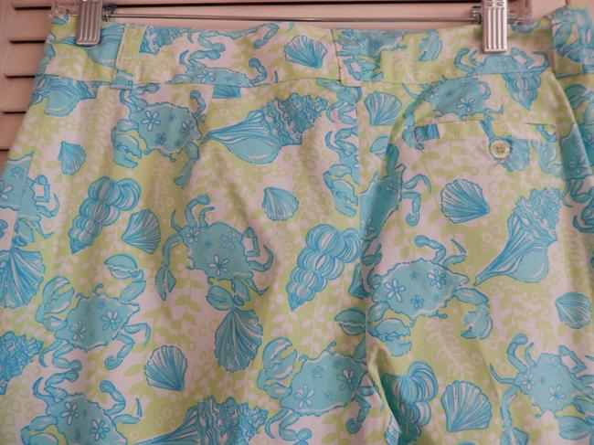 Lilly Pulitzer Pants Pant Size 4 Like New Capris Multi (aqua blue, green, white)