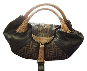 Fendi Satchel in Tobacco