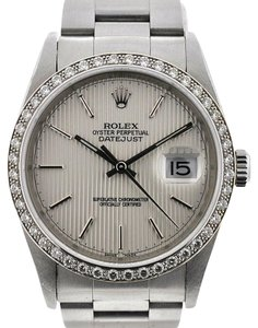 Rolex Rolex 16200 Diamond Datejust Stainless Steel Watch