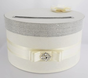 Card Box / Wedding Box / Wedding Money Box - Ivory
