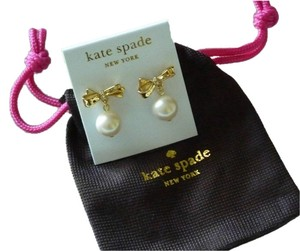 Kate Spade SET-Boxed Necklace & earrings & Bow earrings