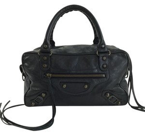 Balenciaga Handbag Satchel in Black