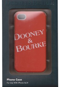 Dooney & Bourke Dooney and Bourke Red & White Hardshell case cover iPhone 4/4S