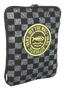 Vans Vans Zippered Tech Tablet Pouch Off the Wall Checkerboard
