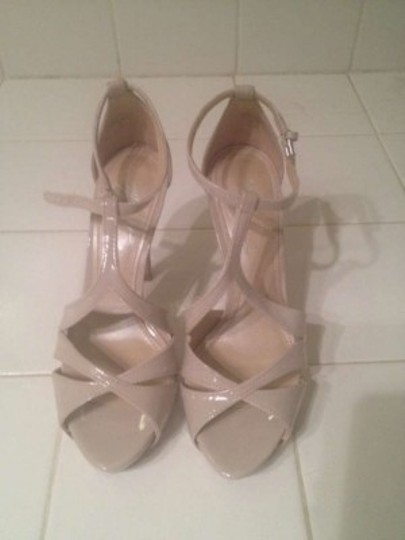 Marc Fisher Nude Patent Platforms