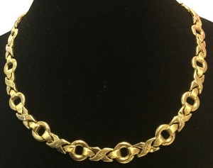 14k Gold XO Chain Necklace