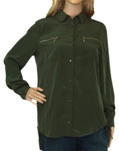 Zoa Button Down Shirt Olive green