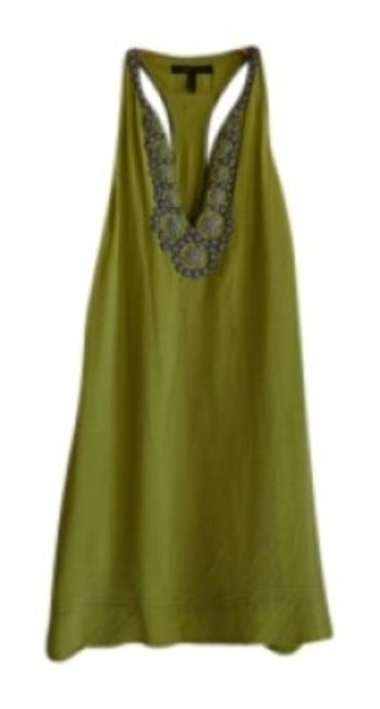 Preload https://item1.tradesy.com/images/bcbgmaxazria-chartreuse-lime-green-knee-length-short-casual-dress-size-8-m-132400-0-0.jpg?width=400&height=650