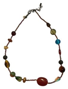 Lia Sophia Multi stone 20 inch necklace