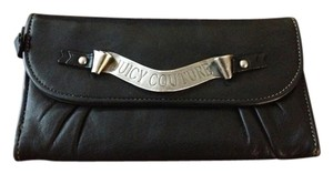 Juicy Couture Juicy Couture Black Leather Wallet