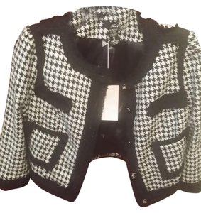 Tea/F Houndstooth Blazer