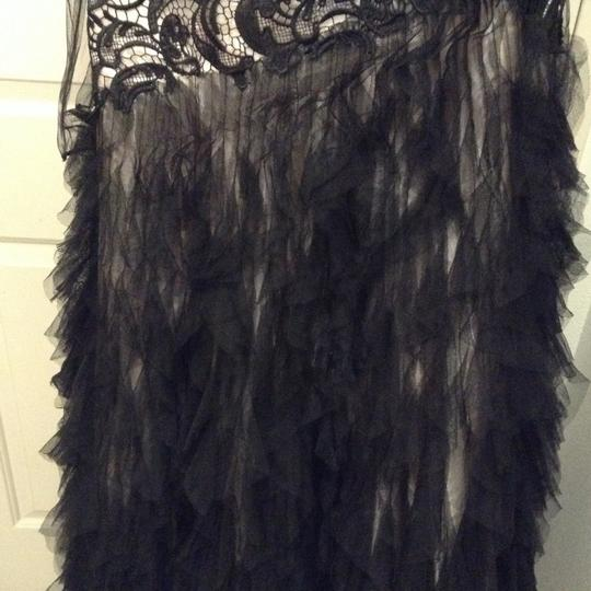 Black Strapless Gown Formal Bridesmaid/Mob Dress Size 12 (L)