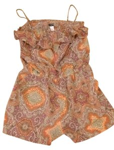 J.Crew short dress Multicolor-Orange on Tradesy