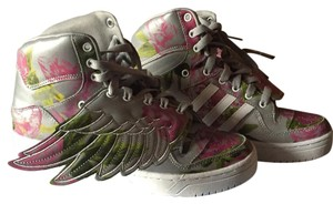adidas Grey Floral Athletic