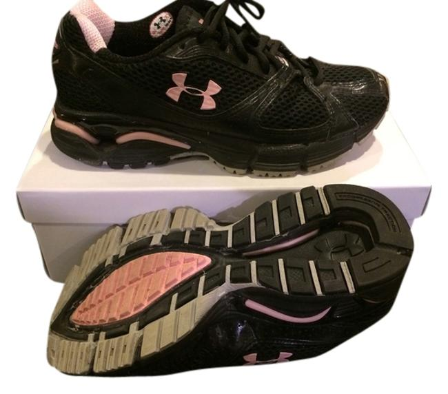 Item - Black and Pink Sneakers Size US 6.5