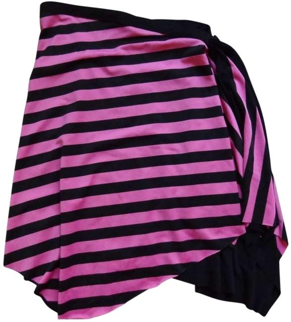 Preload https://item4.tradesy.com/images/rampage-pink-black-asymmetric-hot-and-horizontal-stripes-knee-length-skirt-size-8-m-29-30-132478-0-0.jpg?width=400&height=650