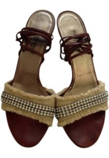 Dolce&Gabbana brown Sandals