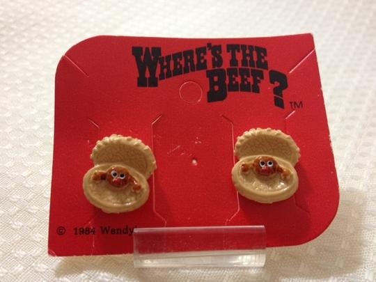 WENDY'S SET#2 -- Classic Collectible WENDY's Where's the BEEF?
