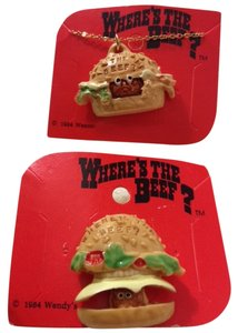 Wendy's SET#3 -- Classic Collectible WENDY's Where's the BEEF?