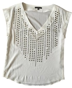 Lucca Couture Anthropologie Top White