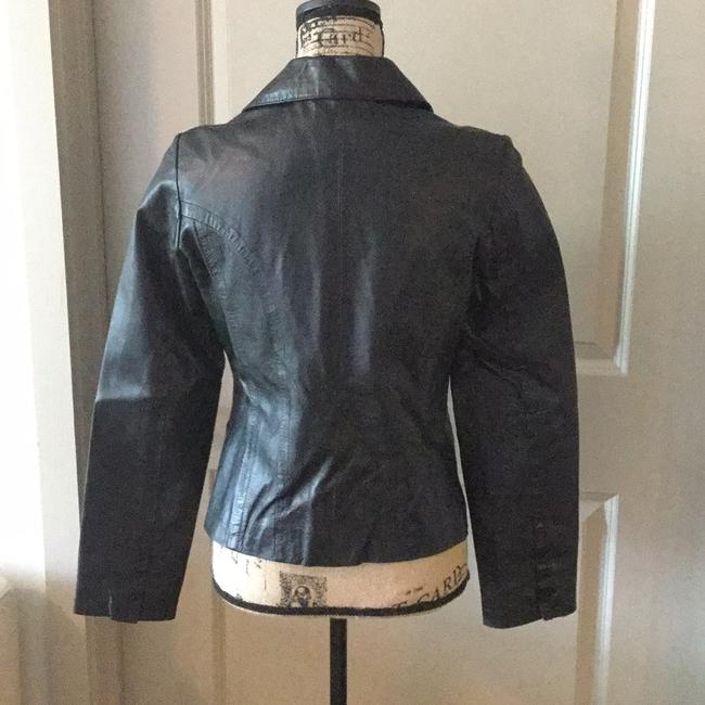In Suede Leather Jacket Image 1