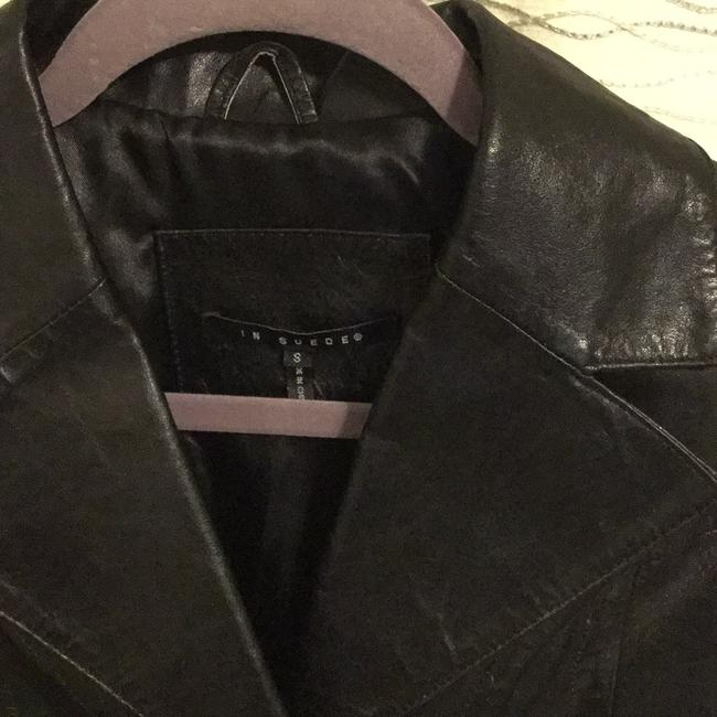 In Suede Leather Jacket Image 3