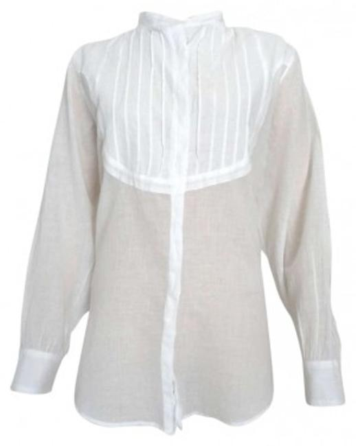 Preload https://item5.tradesy.com/images/see-by-chloe-white-light-weight-button-down-top-size-10-m-132509-0-0.jpg?width=400&height=650