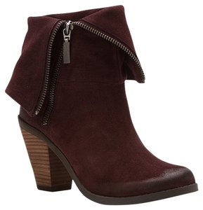 Adam Tucker Burgundy Boots