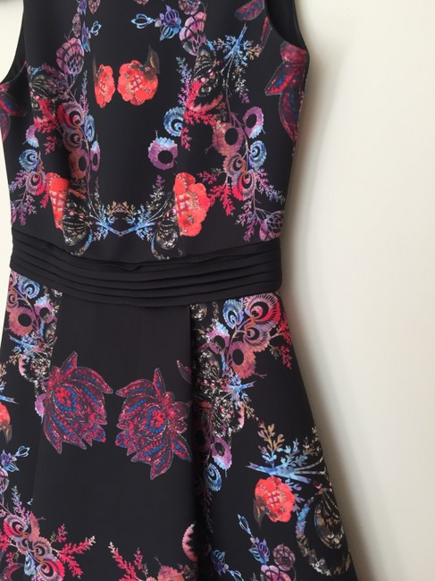 Cynthia Rowley Floral Pleated Never Worn Structured Dress
