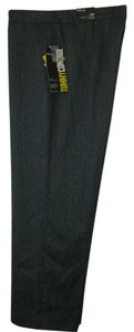 Style & Co Tummy Control Trouser Pants BLACK TWEED