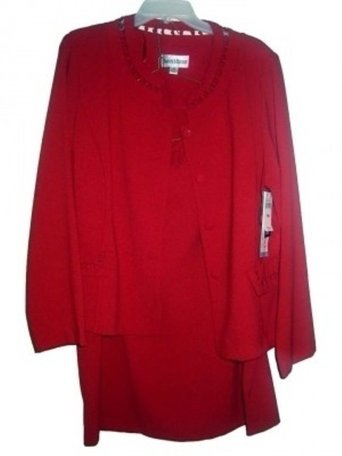 Preload https://img-static.tradesy.com/item/132536/danny-and-nicole-red-pretty-2-pc-skirt-suit-size-18-xl-plus-0x-0-0-650-650.jpg