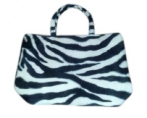 Other Tote in Zebra