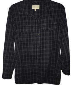 Current/Elliott Button Down Shirt Blues