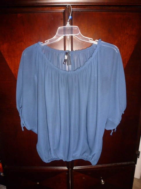 Lyllian Lee Top Lyllian Lee Blue