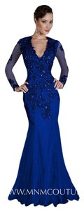 MNM Couture Luxury Long Evening Dress