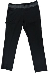Elizabeth and James Capri/Cropped Pants Black