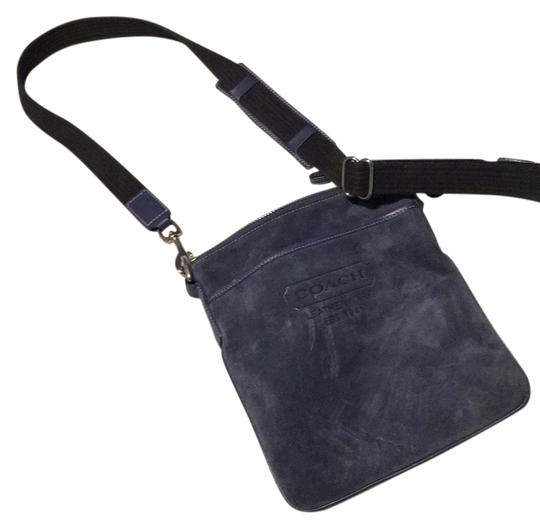 Preload https://img-static.tradesy.com/item/13258747/coach-blue-suede-cross-body-bag-0-1-540-540.jpg