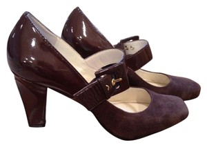 Franco sarto L-tenor Brown (patent & suade) Pumps