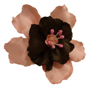 Handmade Lily Flower, handmade flowers, Pink and Brown