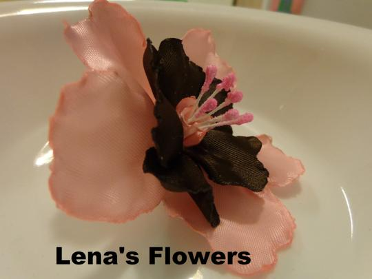 Other Lily Flower, handmade flowers, Pink and Brown