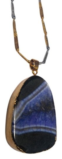 Preload https://item1.tradesy.com/images/purple-black-gold-agate-gemstone-in-long-a152-necklace-13260985-0-2.jpg?width=440&height=440