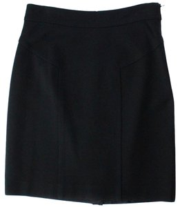 Trina Turk A-line Above Knee Party Mini Skirt Black
