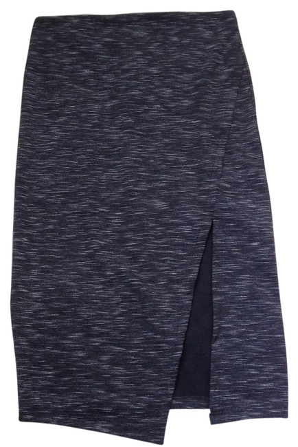 Preload https://item4.tradesy.com/images/romeo-and-juliet-couture-black-gray-space-dye-slit-skirt-size-6-s-28-13262683-0-1.jpg?width=400&height=650
